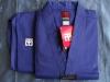 لباس تکواندو موتو کبریتی آبی